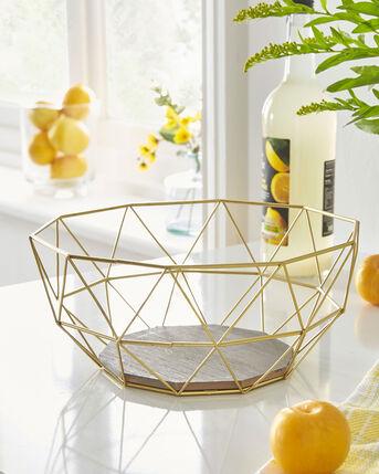 Geometric Fruit Bowl