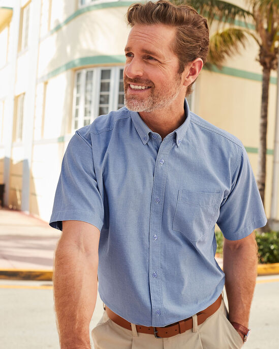 Short Sleeve Classic Oxford Shirt