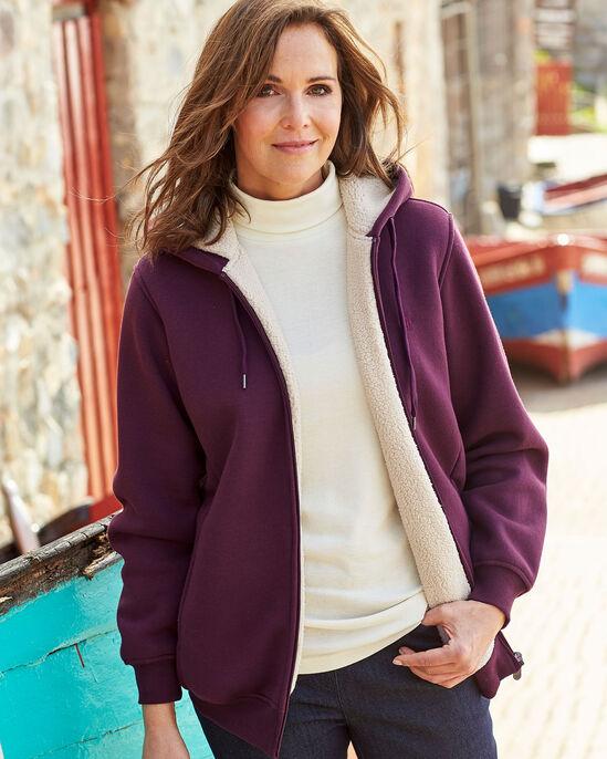 Soft Fleece Lined Jersey Jacket