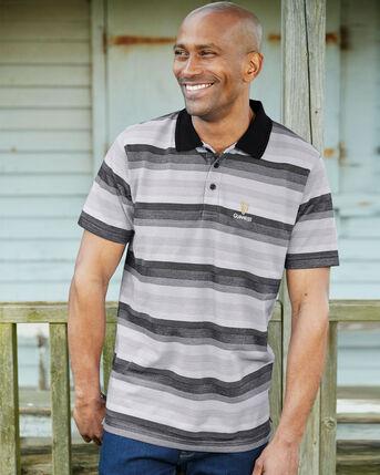 Guinness™ Short Sleeve Tonal Stripe Polo Shirt