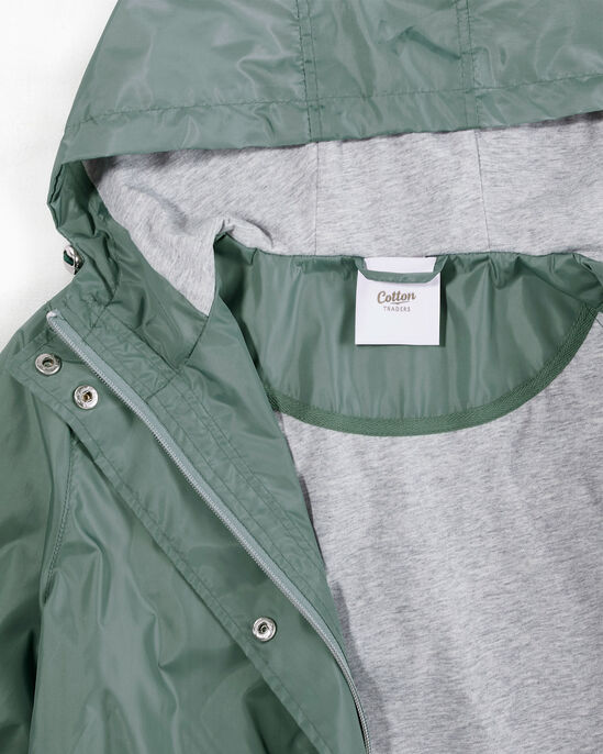 Showerproof Jersey Lined Parka