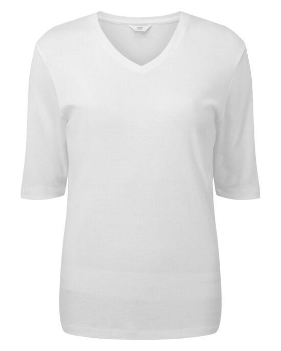 Wrinkle Free V-neck Top