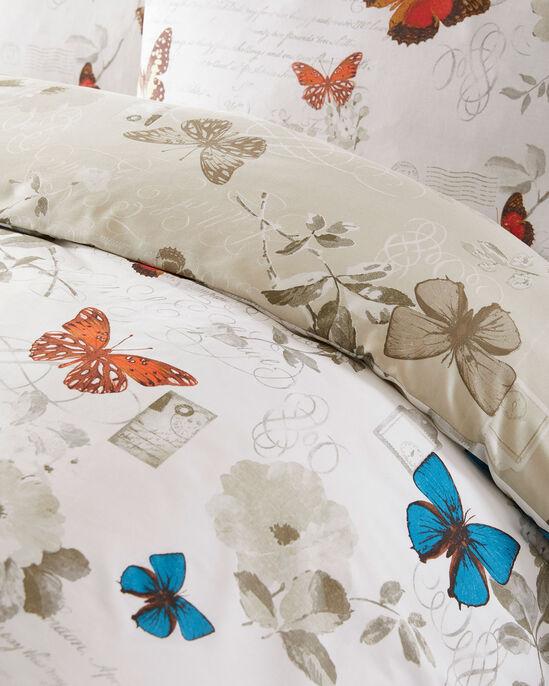 Vintage Butterfly Duvet Set