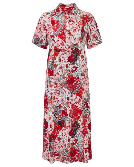 Printed Long Shirt Dress