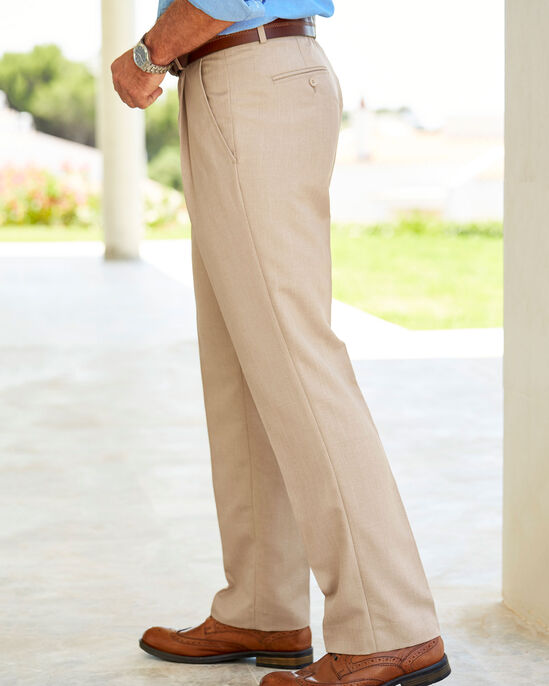 Pleat Front Travel Trousers