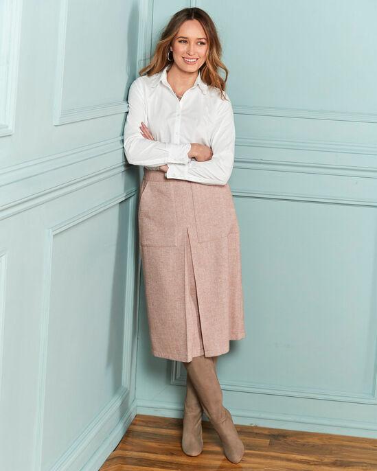 Macy Pull-on Midi Skirt