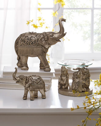 Baby Elephant Ornament