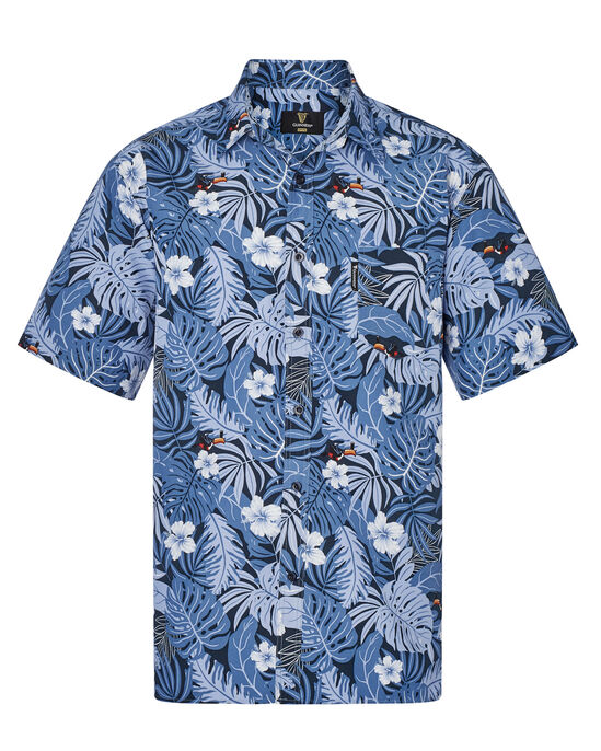 Guinness® Short Sleeve Soft Touch Toucan Print Shirt