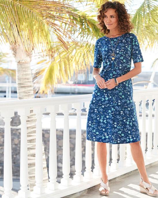 Prinited Midi Dress