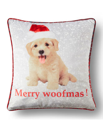 Merry Woofmas Cushion