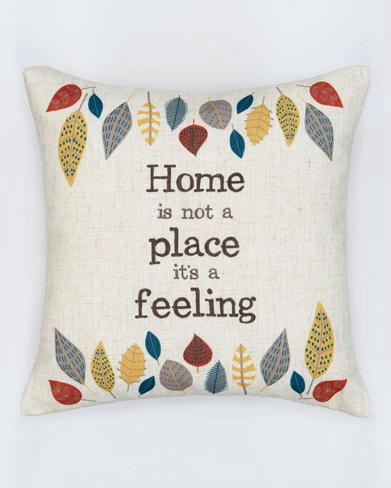 Home Is a Feeling Cushion