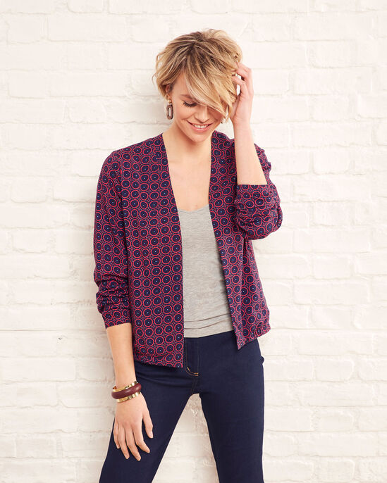 Easy Wear Printed Bomber Jacket