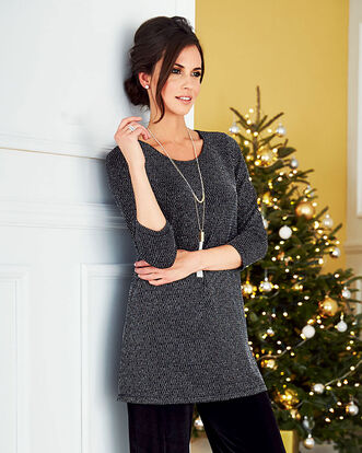 Sparkle Jersey Tunic