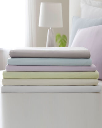 200 Thread Count Cotton Percale Fitted Sheet Double