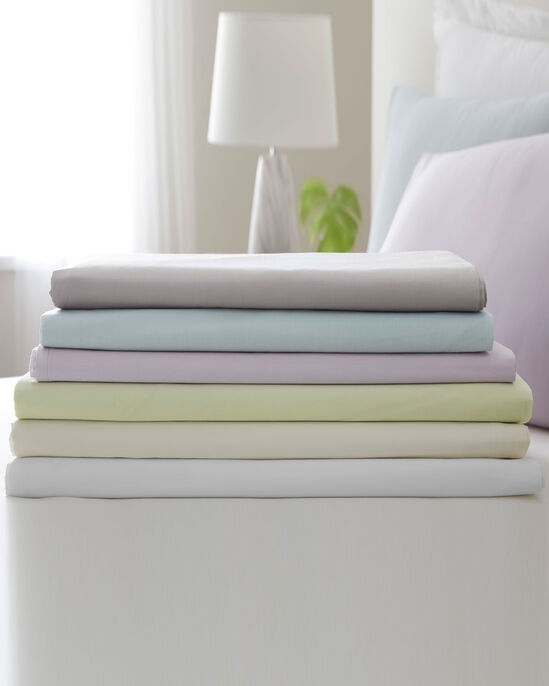 200 Thread Count Cotton Percale Flat Sheet Single