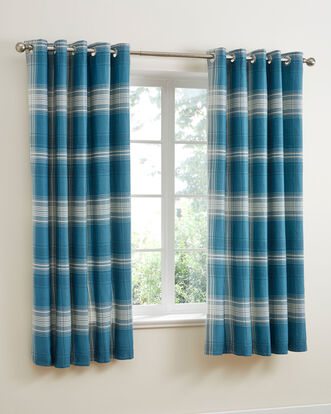 Mckenna Eyelet Curtains 66x72""