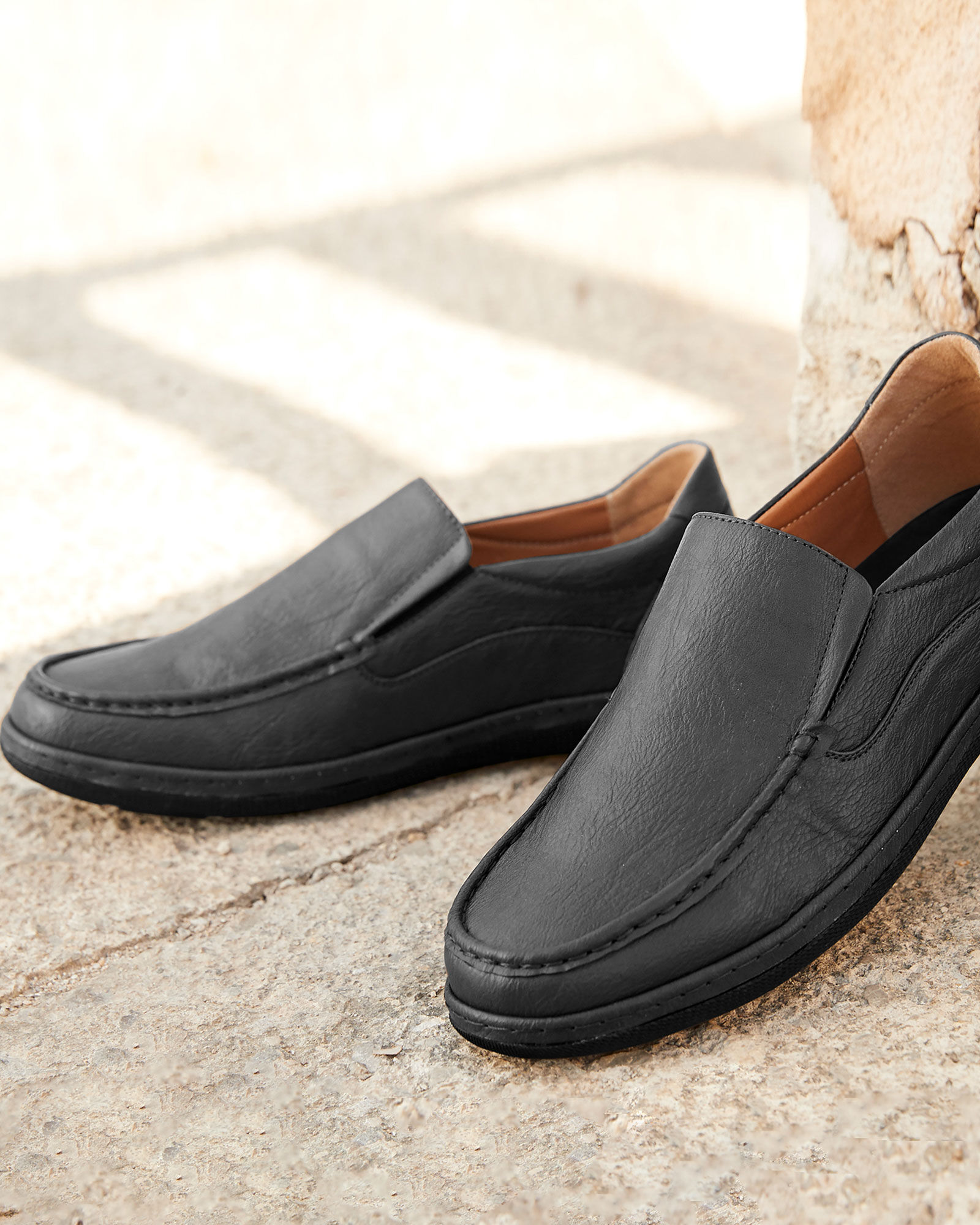 Dual Fit Slip-on Shoes at Cotton Traders