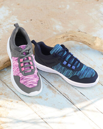 Lightweight Memory Foam Lace-up Trainers
