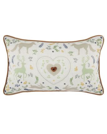 Country Life Embellished Cushion