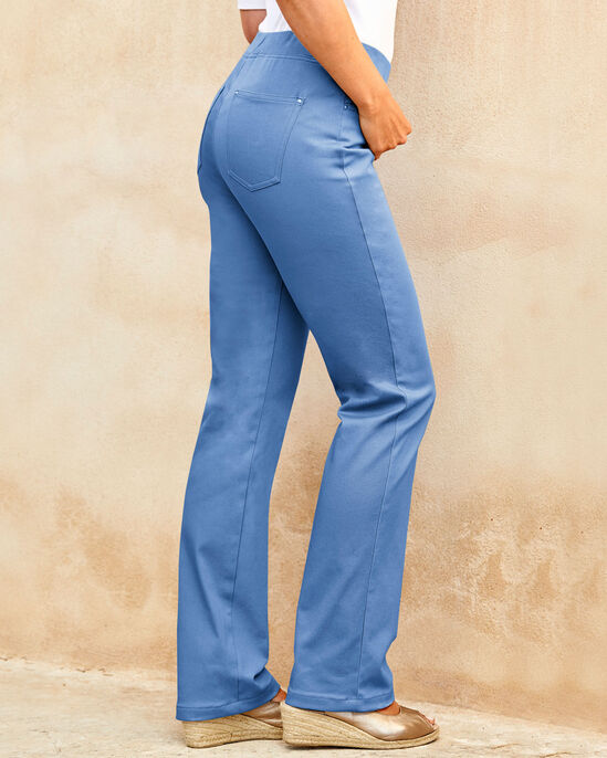 Premium Pull-on Rib Waist Jeans