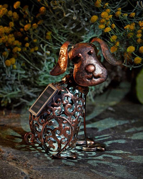 Solar Dog Ornament