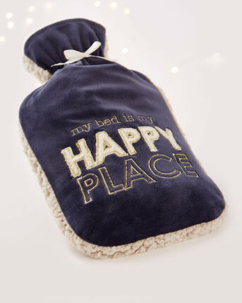 My Happy Place Hot Water Bottle