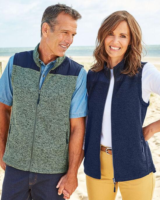 Farndale Knitted Fleece Gilet