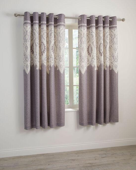 """Gabriella Eyelet Curtains 66x72"""""""