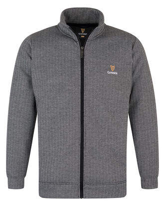 Guinness Herringbone Bonded Fleece Jacket