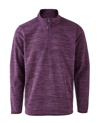 Luxury Marl Fleece Top