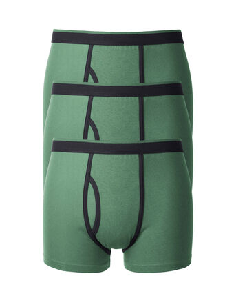 3 Pack Contrast Trunks