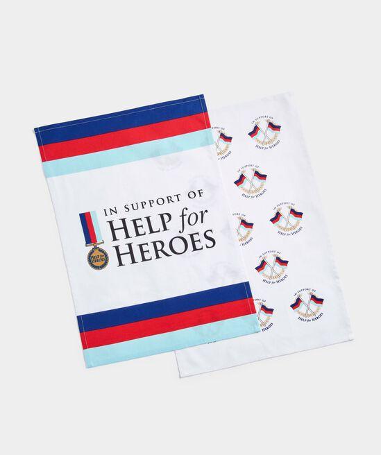 Help For Heroes Tea Towels