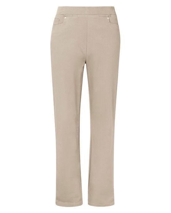 Premium Pull-on Rib Waist Jeans (Twill)