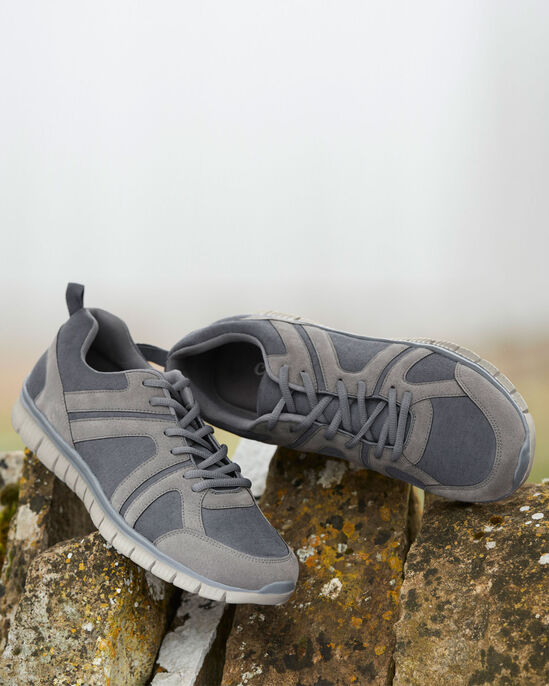 Flexi Active Lace-up Trainers