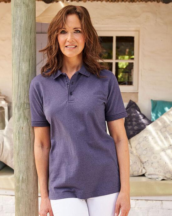 Organic Cotton Short Sleeve Polo Shirt