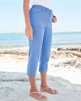 Classic Chino Crop Trousers