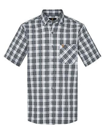 Guinness® Short Sleeve Seersucker Check Shirt