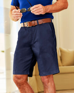 Travel Flat Front Chino Short