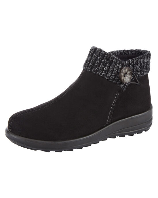 Flexisole Knit Cuff Boots