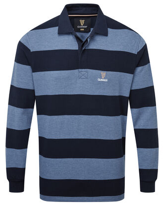 Guinness® Long Sleeve Hooped Rugby Shirt