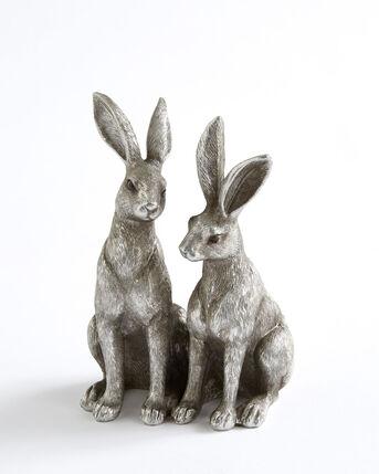 Hare Twins Ornament