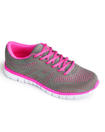 Ladies Lightweight Flexi Comfort Trainers