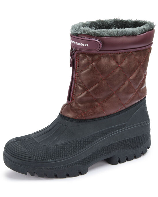 Quilted Highland Waterproof Boots