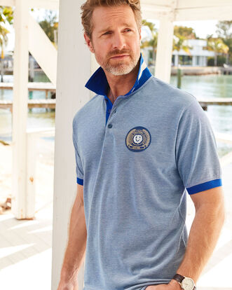 Short Sleeve Scotland Polo Shirt