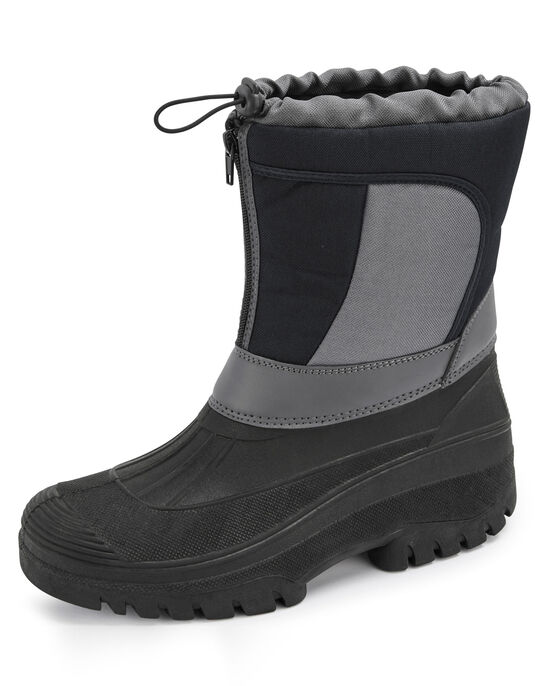Zip Front Colour Block Wilderness Boots