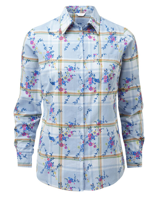 Oxford Floral Check Shirt