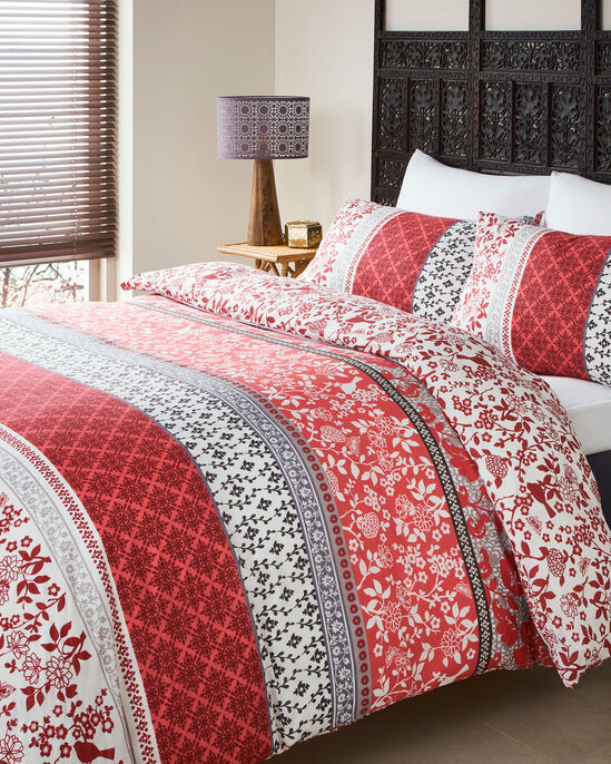 Oriental Bands Duvet Set