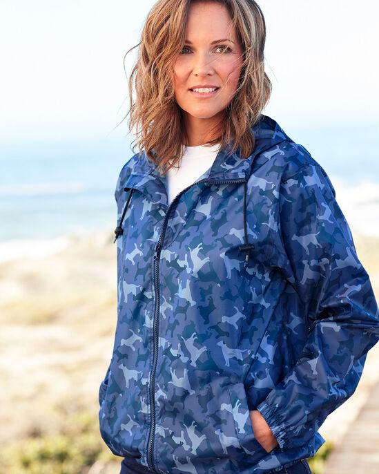 Animal Print Waterproof Jacket