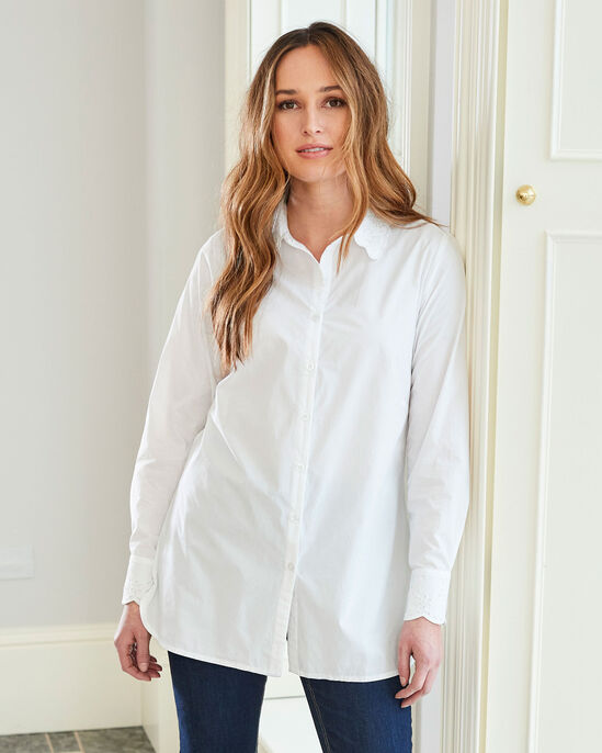 The Perfect Long Sleeve White Shirt