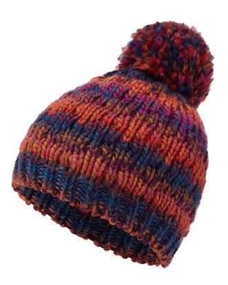 Space Dye Bobble Hat